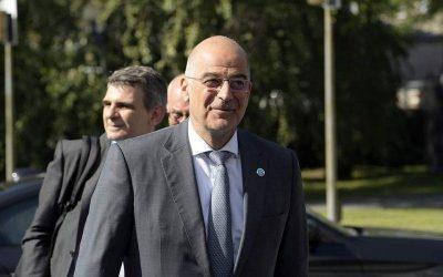 To ζήτημα της τουρκικής προκλητικότητας ανέδειξε ο Ν. Δένδιας στην άτυπη συνάντηση των ΥΠΕΞ της Ε.Ε.