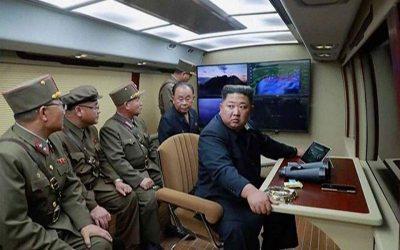 Η Βόρεια Κορέα εκτόξευσε άλλους δύο πυραύλους άγνωστου τύπου