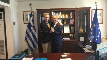 Διαματάρης-Πάιατ: Άριστο το επίπεδο των ελληνοαμερικανικών σχέσεων
