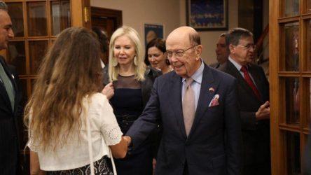 Από την Ελλάδα στην Τουρκία ο Αμερικανός υπουργός εμπορίου – Συνάντησε επιχειρηματίες