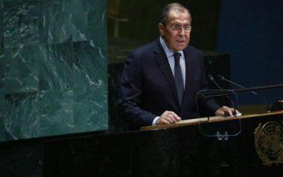 Στη Δαμασκό ο Ρώσος υπουργός Εξωτερικών Σεργκεί Λαβρόφ