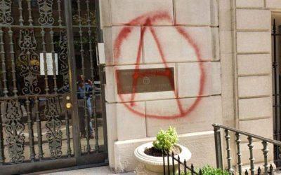 Βανδαλισμός στο κτίριο του Γενικού Προξενείου της Ελλάδας στη Νέα Υόρκη