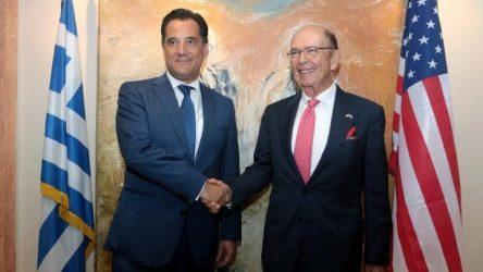 Αδωνις Γεωργιάδης:  Ώρα να έλθουν σοβαρές αμερικανικές επενδύσεις στην Ελλάδα