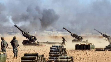 5000 Σύριοι στρατιώτες με βαρύ οπλισμό κατευθύνονται προς την Μάνμπιτζ