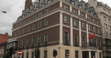 Τη λύπη της για τους 39 νεκρούς εξέφρασε η κινεζική πρεσβεία στο Λονδίνο