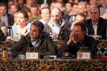Άσκηση Παρμενίων: Ο πρωθυπουργός παρακολούθησε το βραδινό σκέλος της άσκησης «ΤΑΜΣ Βελισσάριος»