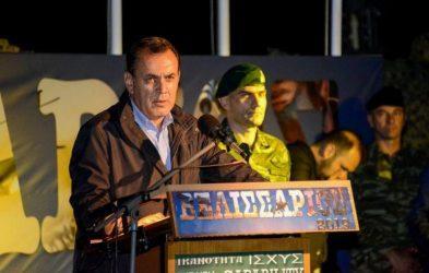 Υπουργός Άμυνας: : Οι Ένοπλες Δυνάμεις της χώρας είναι το ξίφος της Ελλάδας