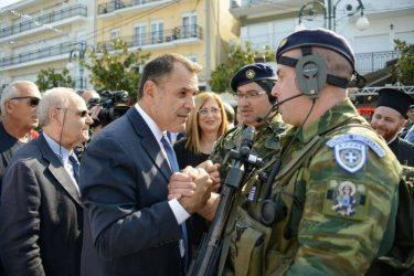 Υπουργός Άμυνας: Ισχυρές Ένοπλες Δυνάμεις απαραίτητη προϋπόθεση για να μπορεί η χώρα να πορευτεί μπροστά