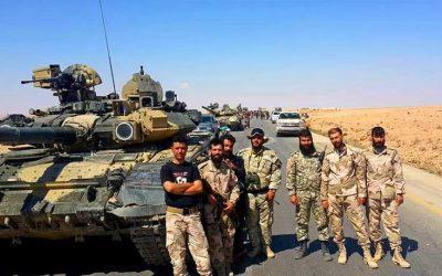 Στρατεύματα της Δαμασκού εισήλθαν στην πόλη Τελ Τάμερ στη βορειοανατολική Συρία