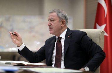 Τούρκος Υπουργός Άμυνας: H Ελλάδα φροντίζει μόνο για τα δικά της συμφέροντα στο Αιγαίο και τη Μεσόγειο