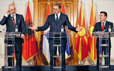 """Μια """"Μικρή Σένγκεν"""" από Σερβία, Αλβανία και Βόρεια Μακεδονία"""