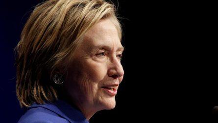 H Χίλαρι Κλίντον θα στηρίξει στην προεκλογική εκστρατεία τον Τζο Μπάιντεν