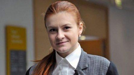 Αποφυλακίστηκε η Ρωσίδα κατηγορούμενη για κατασκοπεία Μαρία Μπούτινα