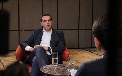 Αλέξης Τσίπρας: Είναι δικαίωση που η κυβέρνηση θα τηρήσει την Συμφωνία των Πρεσπών
