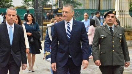 Αλκιβιάδης Στεφανής: Ελλάδα και Κύπρος θα συνεχίσουν να αγωνίζονται για την ειρηνική απελευθέρωση και επανένωση της Μεγαλονήσου