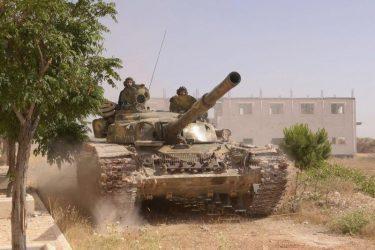 2000 Σύριοι στρατιώτες, 20 άρματα Τ-72Β3 και BPM-1 μπήκαν στην Μανμπίτζ