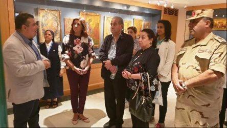 Οκτώ υπουργοί της Αιγύπτου και δεκάδες Πρέσβεις επισκέφθηκαν την Μονή της Αγίας Αικατερίνης στο Σινά