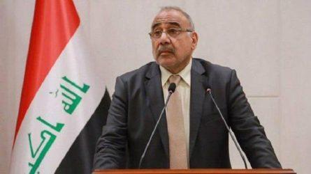 Ιράκ: Παραιτήθηκε ο Πρωθυπουργός Αντέλ Αμπντούλ Μαχντί