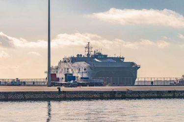 Το USS Carson City κατέπλευσε στο λιμάνι της Αλεξανδρούπολης