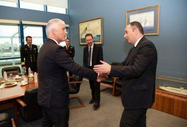 Συνάντηση Υπουργού Ναυτιλίας με τον Πρέσβη της Γερμανίας στην Αθήνα