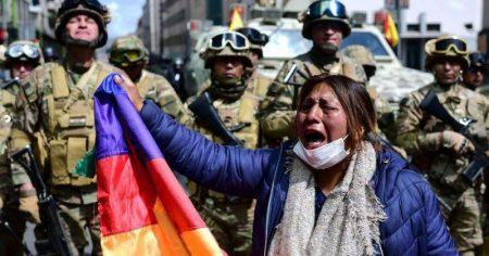 Βολιβία: Η μεταβατική κυβέρνηση υπόσχεται εκλογές «πολύ σύντομα»
