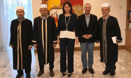 Επίσκεψη Μουφτήδων στο Υπουργείο Παιδείας
