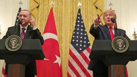 «Καλό φίλο» χαρακτήρισε ο Αμερικανός πρόεδρος Ντόναλντ Τραμπ τον Τούρκο ομόλογό του