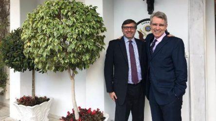 Τζέφρι Πάιατ: Η επίσκεψη του Ματ Πάλμερ αποτελεί σαφή ένδειξη του ηγετικού ρόλου της Ελλάδας ως πυλώνα σταθερότητας