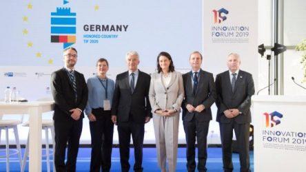 Ο Λευκός Πύργος στο λογότυπο της Γερμανίας ως τιμώμενης χώρας στη ΔΕΘ 2020