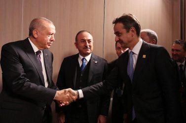 Μητσοτάκης-Ερντογάν: Εκατέρωθεν διαφωνίες -Συγκαλείται το Ανώτατο Συμβούλιο Εξωτερικής Πολιτικής