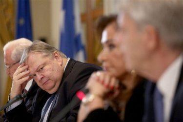 Ευάγγελος Βενιζέλος: Η φερόμενη συμφωνία είναι γενναιόδωρη με την Λιβύη και την Αίγυπτο σε βάρος της Ελλάδας