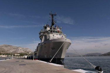 Παραδόθηκε στο Πολεμικό Ναυτικό το πλοίο Γενικής Υποστήριξης «ΑΤΛΑΣ-1»