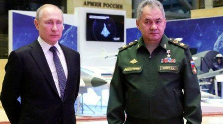 """Βλαντιμίρ Πούτιν: """" Μπορούμε να πυροβολούμε οπουδήποτε """""""