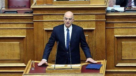 Υπουργός Εξωτερικών: Δεν εφησυχάζουμε, αλλά επαγρυπνούμε στον Εβρο
