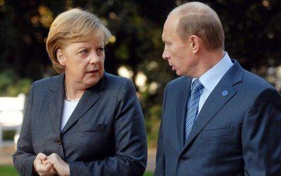 Λιβύη, Nord Stream-2 και νέος αγωγός μέσω Ουκρανίας στην συνάντηση Πούτιν – Μερκέλ