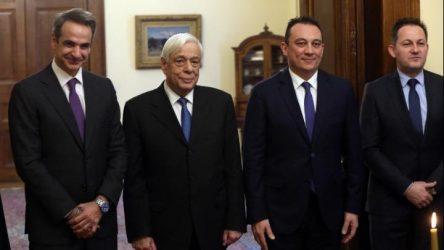 Ορκίστηκε ο νέος υφυπουργός Εξωτερικών, Κ. Βλάσης