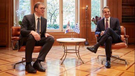 Βούσιτς: Η Σερβία υποστηρίζει την Ελλάδα πλήρως για τα θαλάσσια σύνορά της