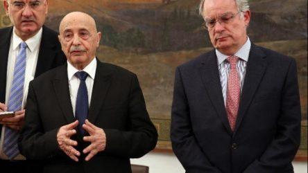 Πρόεδρος του Κοινοβουλίου της Λιβύης: Μη νόμιμη και απορριπτέα η συμφωνία Τουρκίας–κυβέρνησης της Τρίπολης
