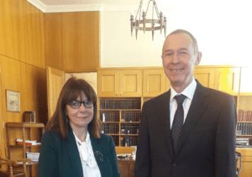 Αντει Μάσλοβ και Κατερίνα Σακελλαροπούλου για τις σχέσεις Ελλάδας – Ρωσίας