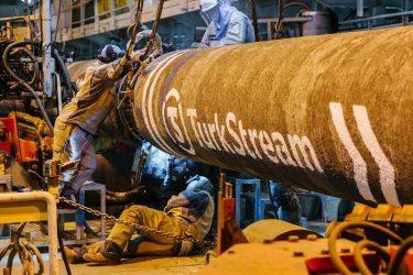 Μέσω του TurkStream το φυσικό αέριο σε Ελλάδα και Βόρεια Μακεδονία από την Ρωσία