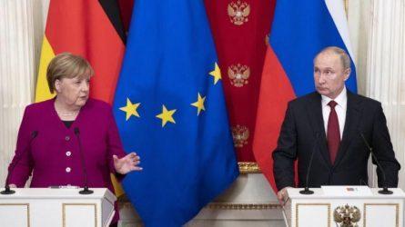 Πούτιν – Μέρκελ: Είναι καιρός να διεξαχθούν ειρηνευτικές συνομιλίες για την Λιβύη