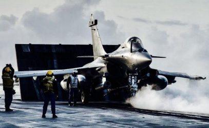 Η Γαλλία προβάλει τα στρατιωτικά της μέσα στην Ανατολική Μεσόγειο