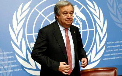 Ο ΓΓ του ΟΗΕ προειδοποιεί την Τουρκία εναντίον της ανάπτυξης στρατευμάτων στη Λιβύη