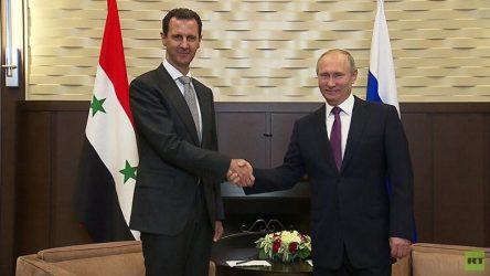 Στην Δαμασκό ο Πούτιν, συναντήθηκε με τον Μπασάρ αλ Ασαντ