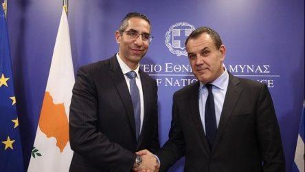 Yπ. Άμυνας Ελλάδας και Κύπρου: Εργαζόμαστε για την σταθερότητα και την ασφάλεια στην ΝΑ Μεσόγειο
