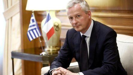 Ο Γάλλος υπουργός Οικονομικών καλεί τις γαλλικές επιχειρήσεις να επενδύσουν στην Ελλάδα