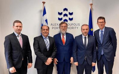 Στην Αλεξανδρούπολη ο Σύμβουλος της DFC, ο Αμερικανός Πρόξενος και ο Οικονομικός Ακόλουθος των ΗΠΑ
