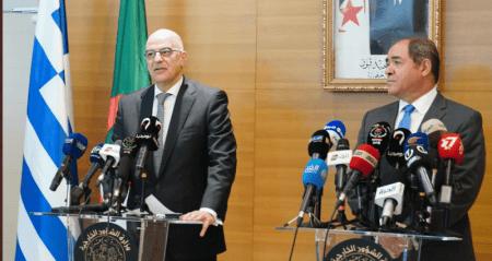 Υπουργός Εξωτερικών: Ελλάδα και Αλγερία ενάντια σε κάθε είδους ξένη εμπλοκή στη Λιβύη