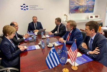 Κωνσταντίνος Χατζημιχαήλ: Ιδιαίτερο ενδιαφέρον της κυβέρνησης των ΗΠΑ για το λιμάνι της Αλεξανδρούπολης