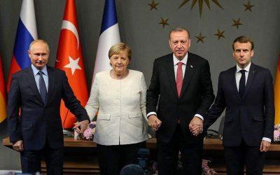 Συνάντηση κορυφής Ρωσίας – Γαλλίας – Γερμανίας – Τουρκίας για Ιντλίμπ